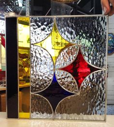 Brilliant Stained Glass Steelers Panel