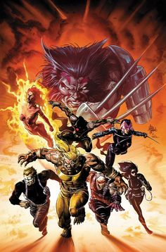 Uncanny X-Force by Mike Deodato Jr