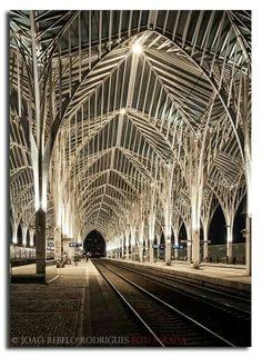 Lisbon Oriental Raillway Station - (by arq Calatrava) Lisbon - Portugal