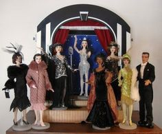 The Studio Commissary: Deco Diva's from the archives.... >>>(2 PICS)  -  Posted by Mike on April 25, 2016, 4:21 pm.  Tonner has produced some wonderful fashions over the years. Enjoy!