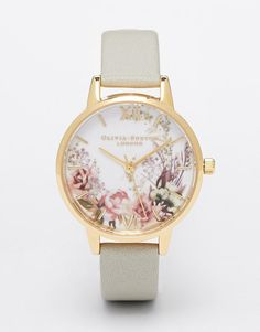 Olivia Burton   Olivia Burton Flower Show Midi Dial Watch at ASOS