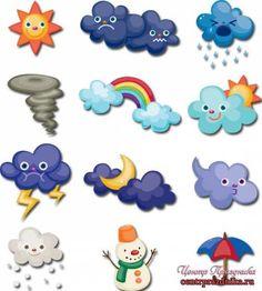 Preschool Weather, Weather Crafts, Weather Activities, Preschool Classroom, Classroom Decor, Toddler Activities, Learning Activities, Preschool Activities, Felt Crafts