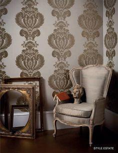 Lee Jofa's Modern Wallpapers - Style Estate. http://lelandswallpaper.com.