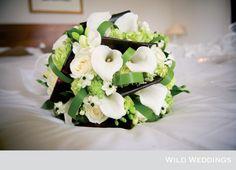 Inspiração: paleta verde e branco para o seu casamento | Casar é um barato