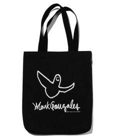 ☆MARK GONZALES☆エコバッグ ANGEL LOGO ECO BAG Angels Logo, Reusable Tote Bags