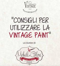 dwld guida vintage paint - Mobili per Passione