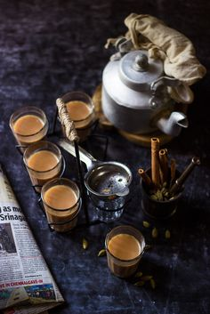 Masala Chai... #foodphotography #photography #stilllife #foodstyling #tea #chai #masalachai #masala #spices