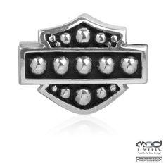 Harley-Davidson® MOD® Studded Bar and Shield Ride Bead HDD0002
