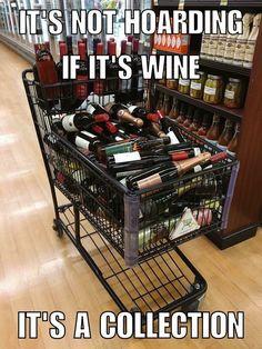 This is what my hubby always tells me !! #WineHumor