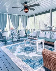 Outside Living, Outdoor Living, Living At Home, Living Spaces, Deck Decorating, Indoor Outdoor, Outdoor Decor, Outdoor Spaces, Screened In Porch