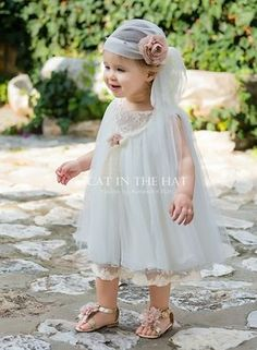 Baby Girl White Dress, Baby Girl Party Dresses, Birthday Girl Dress, Little Girl Dresses, Baby Dress, Girls Dresses, Flower Girl Dresses, Baby Girl Fashion, Kids Fashion