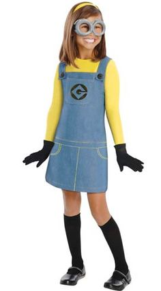 Despicable Me Minions Halloween Costumes