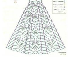 Baby Girl Coming Home/Baptism/Christening Outfit Crochet Crochet Skirt Pattern, Crochet Skirts, Crochet Diagram, Crochet Chart, Filet Crochet, Crochet Motif, Crochet Patterns, Crochet Baby, Crochet Summer