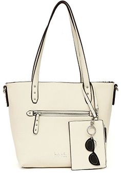 Nicole Miller New York Danielle Tote Handbag One Size Tan *** Be sure to check out this awesome product.Note:It is affiliate link to Amazon.