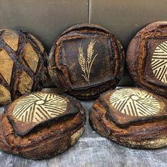 Artisan Bread Recipes, Sourdough Recipes, Sourdough Bread, Cocoa Recipes, Donut Recipes, Savoury Baking, Bread Baking, Art Du Pain, Savory Donuts Recipe