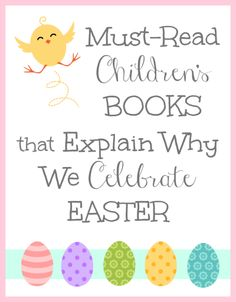 Christian Easter Books for Young Children