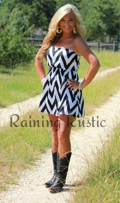 Chevron Dress, love the dress but I hate the boots