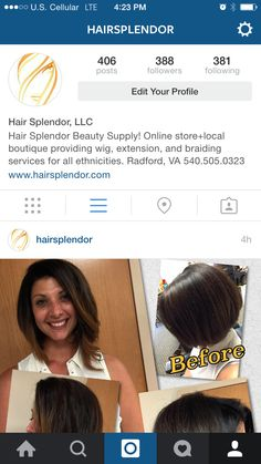 Follow Us On Instagram To See Our Client Hairstyles Hairsplendor