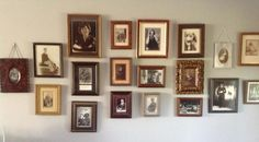 old family photo grouping
