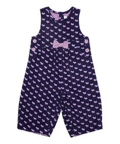 Take a look at this Navy Scottie Dog Overalls - Infant & Toddler by JoJo Maman Bébé on #zulily today!