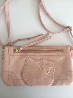 Sanrio Hello Kitty Bag Crossbody Pink Designer Fashion Hip Trendy Multi  Pockets  Sanrio  MessengerCrossBody 340c54a1ad