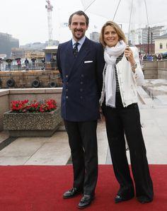 Realmyroyalsl:  80th Birthday Celebrations, Day 2, May 10, 2017-Prince and Princess (Tatiana) Nikolaos