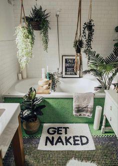 Natural Bath Bombs, Decoration Bedroom, Have A Shower, Bathroom Plants, Free Yoga, Ceiling Decor, Kids House, Amazing Bathrooms, Home Design
