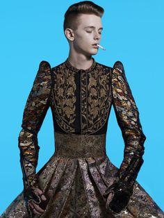 Japan Vogue Homme: HEDI SLIMANE FASHION DIARY