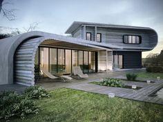 KO+KO architects (Украина). S-House, или Как на бетоне вырос сруб : «Д.Журнал» — журнал о дизайне и архитектуре