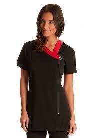 Resultado de imagen para beautician uniforms uk Polo Ralph Lauren, V Neck, Mens Tops, Clothes, Dresses, Women, Image, Fashion, Aprons