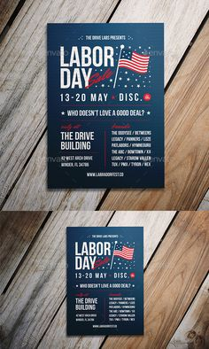 #Labor #Day Sale #Flyer - Events Flyers