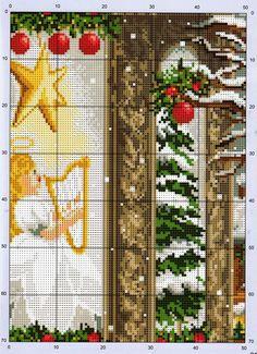 Point de croix Noël ❤️✼❤️✼wishing for christmas  4