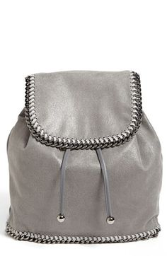 Stella McCartney 'Falabella - Shaggy Deer' Backpack available at #Nordstrom