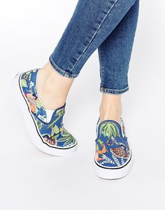 Image 1 of Vans Disney Jungle Book Slip On Trainers