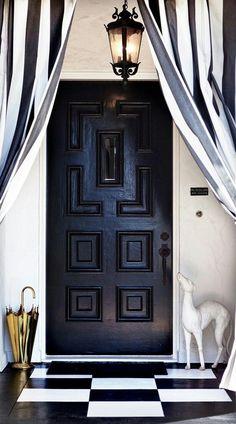 elegant entrance