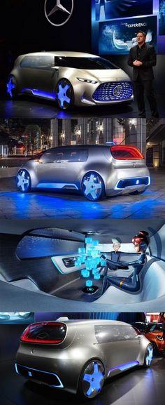 Mercedes-Benz unveiled its concept model #VisionTokyo at 2015 #TokyoMotorShow.  #Mercedes