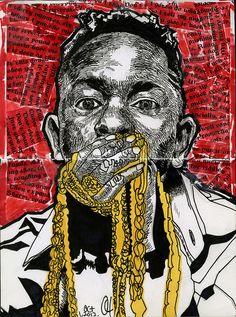 good kid M.A.A.D city - K.Dot Kendrick Lamar Good Kid Maad City, Bronx Nyc, Best Rapper, Kendrick Lamar, Photo Illustration, Black Art, Celebrity Photos, Cool Kids, Pop Art