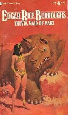 Thuvia, Maid of Mars (1920)  (The fourth book in the John Carter of Mars series)  A novel by Edgar Rice Burroughs