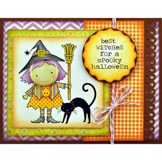 Best Witches   Just got these stamps in at Paper Pals!