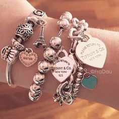 Tiffany and Pandora # Pandora # Tiffany-# Pandora # Tiffany-# Tiffany Jewelry-New Ideas - and Pandora Pandora Tiffany Pandora Tiffany Tiffany Jewelry Tiffany & Pandora - Tiffany Jewelry, Tiffany Bracelets, Bracelet Pandora Charms, Pandora Jewelry, Pandora Pandora, Pandora Rings, Cute Jewelry, Charm Jewelry, Jewelry Accessories