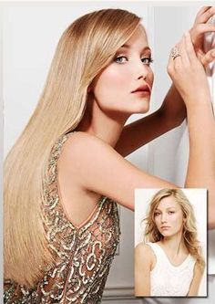 Blond hair sexy makeover great lengths hair extension www great lengths hair extensions beautiful blonde before after model veronika pmusecretfo Image collections