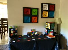 Rubik's Cube Party!                                                                                                                                                                                 More