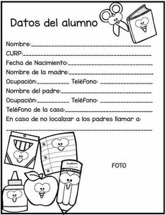 School Notes, 100 Days Of School, First Day Of School, Back To School, Classroom Organization, Classroom Management, Welcome Letters, English Activities, Teaching Spanish