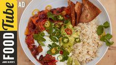 Sweet Potato Chilli | Jamie Oliver - Ad --sub nondairy yogurt