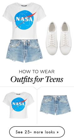 """hhg"" by coconutlady-573 on Polyvore featuring RE/DONE"