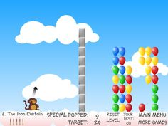 Bloons is a game that can be easily described as one of the most interesting games from the puzzle type of games.