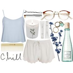"""sleepover"" by rachelgasm on Polyvore"