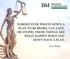 Nobody ever wrote down a plan to be broke, fat, lazy, or stupid. Those things are what happen when you don't have a plan. Criminal Law, Criminal Defense, Hispanic Men, Texas Department, Federal Law Enforcement, Dallas Morning News, What Happens When You, Investigations, Stupid