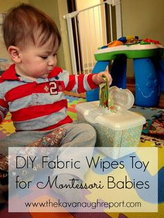 DIY Fabric Wipes for Babies