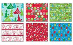 Pack of 6 Rolls of Holiday Wrapping Paper 6 Different Fes... https://www.amazon.com/dp/B01JPCXX5W/ref=cm_sw_r_pi_dp_x_pdnqybHAP0WES